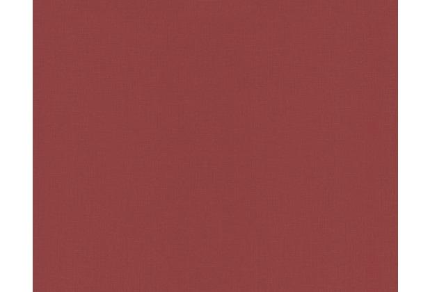 AS Création Unitapete, Vliestapete, rot 249463 10,05 m x 0,53 m