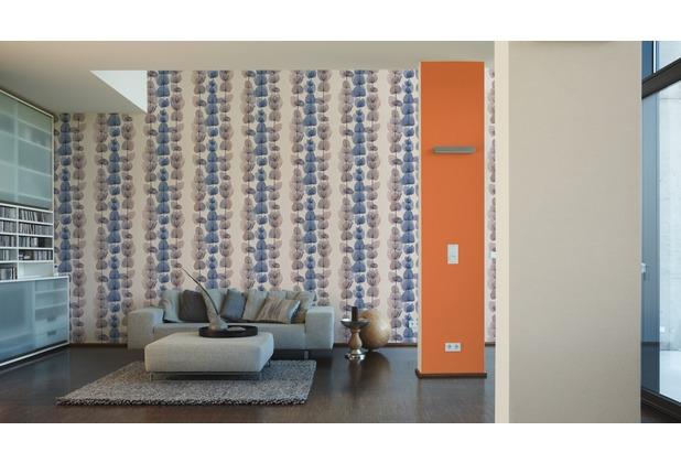 AS Création Unitapete X-Ray Vliestapete orange 10,05 m x 0,53 m