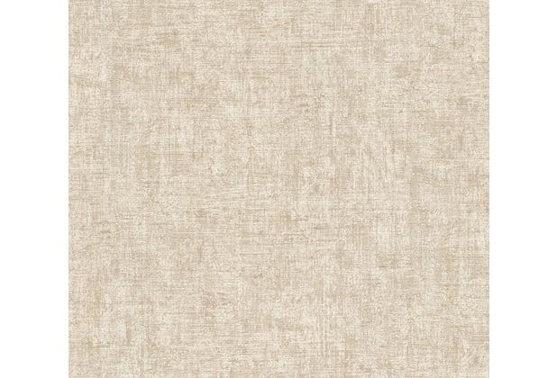 AS Création Vintage Unitapete Borneo Tapete braun creme metallic 322613 10,05 m x 0,53 m