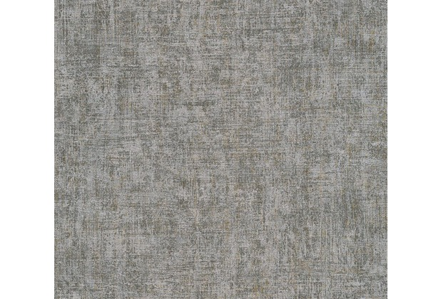 AS Création Vintage Unitapete Borneo Tapete grau metallic 322614 10,05 m x 0,53 m