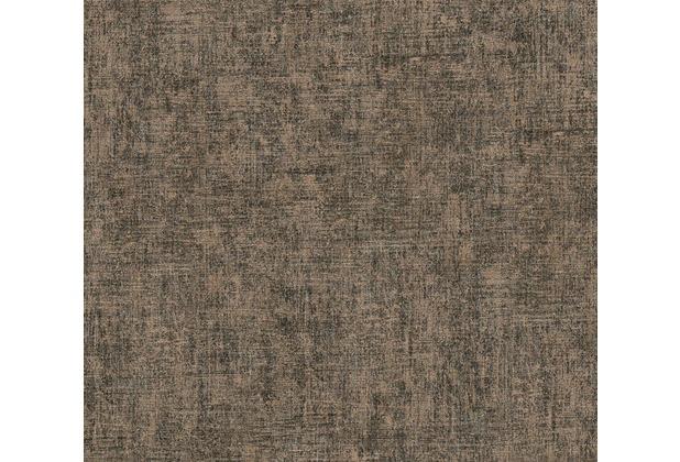 AS Création Vintage Unitapete Borneo Tapete metallic schwarz 322611 10,05 m x 0,53 m