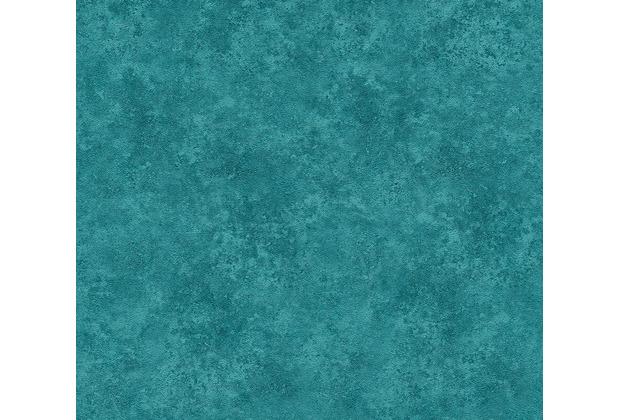 AS Création Vliestapete Asian Fusion Unitapete blau grün 374677 10,05 m x 0,53 m