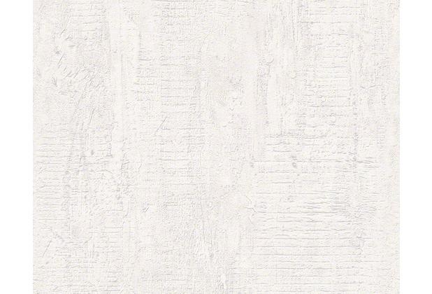 AS Création Vliestapete Best of Wood\'n Stone 2nd Edition creme grau 944264 10,05 m x 0,53 m