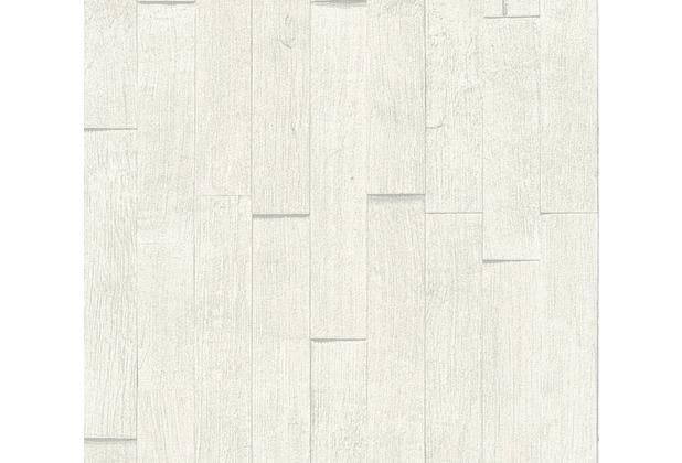 AS Création Vliestapete Best of Wood\'n Stone 2nd Edition creme grau 355842 10,05 m x 0,53 m