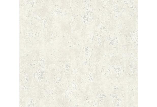 AS Création Vliestapete Beton Concrete & More Tapete in Vintage Beton Optik grau weiß 366002 10,05 m x 0,53 m