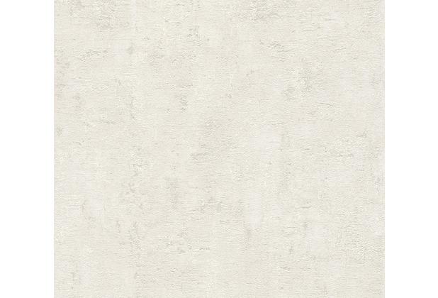 AS Création Vliestapete Blooming Tapete in Vintage Optik grau weiß 230751 10,05 m x 0,53 m