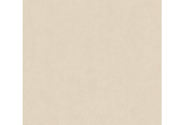 AS Création Vliestapete Blooming Tapete Uni beige 372695 10,05 m x 0,53 m