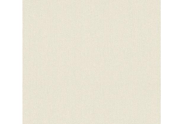 AS Création Vliestapete Blooming Tapete Uni beige 288592 10,05 m x 0,53 m