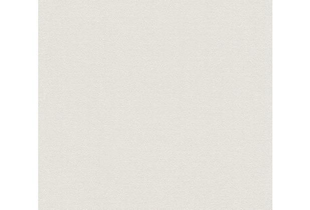 AS Création Vliestapete Blooming Tapete Uni beige grau 372621 10,05 m x 0,53 m