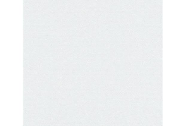 AS Création Vliestapete Blooming Tapete Uni grau 372631 10,05 m x 0,53 m