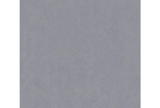 AS Création Vliestapete Blooming Tapete Uni grau 372697 10,05 m x 0,53 m
