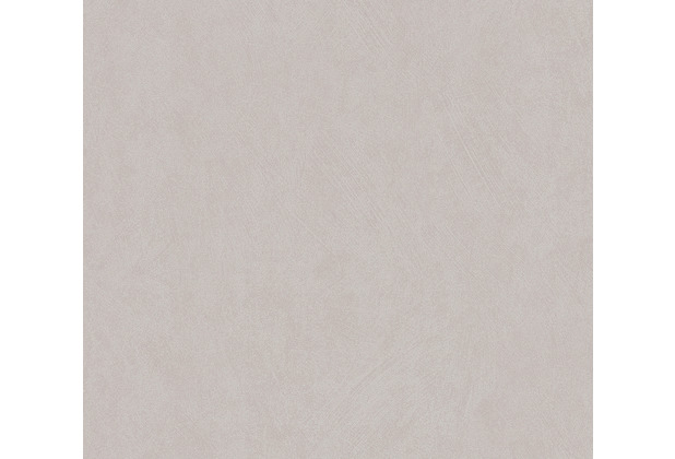 AS Création Vliestapete Blooming Tapete Uni grau beige 372694 10,05 m x 0,53 m