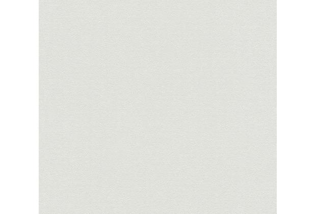 AS Création Vliestapete Blooming Tapete Uni grau beige 372627 10,05 m x 0,53 m