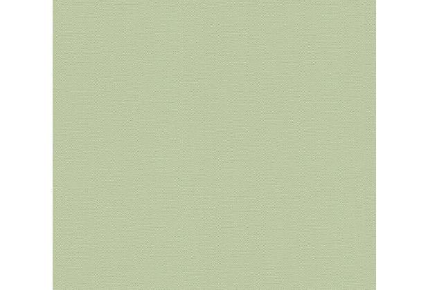 AS Création Vliestapete Blooming Tapete Uni grün 372685 10,05 m x 0,53 m