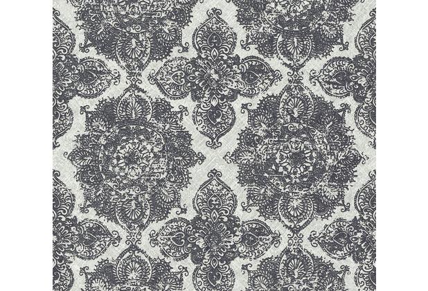 AS Création Vliestapete Boho Love Tapete im Ethno Look metallic grau schwarz 364633 10,05 m x 0,53 m