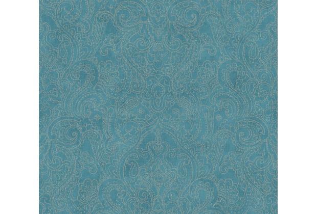 AS Création Vliestapete Boho Love Tapete metallic blau grün 364583 10,05 m x 0,53 m