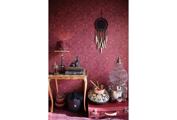 AS Création Vliestapete Boho Love Tapete rot schwarz 10,05 m x 0,53 m