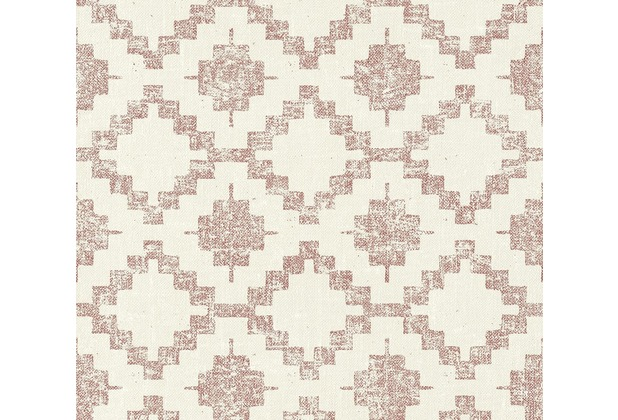 AS Création Vliestapete California Tapete im Ethno Look creme rot 363753 10,05 m x 0,53 m