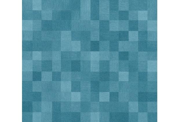 AS Création Vliestapete California Tapete in 3D Optik blau 363901 10,05 m x 0,53 m