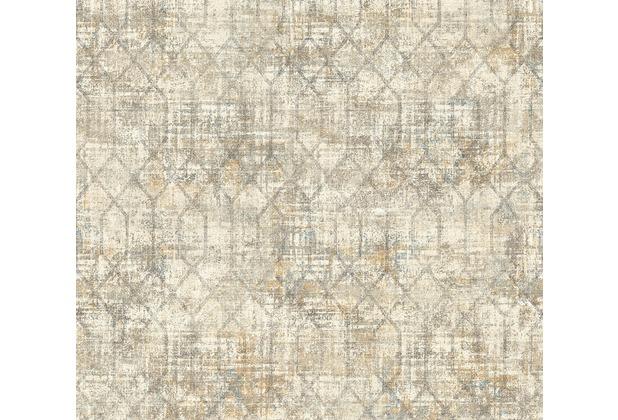 AS Création Vliestapete Character Tapete im Ethno Look beige creme grau 367713 10,05 m x 0,53 m