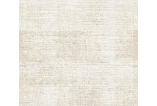 AS Création Vliestapete Character Tapete in Vintage Optik beige creme weiß 367734 10,05 m x 0,53 m