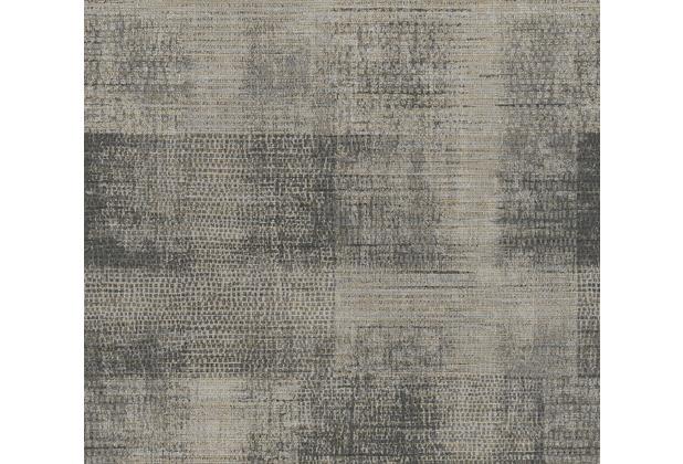 AS Création Vliestapete Character Tapete in Vintage Optik beige grau schwarz 367733 10,05 m x 0,53 m