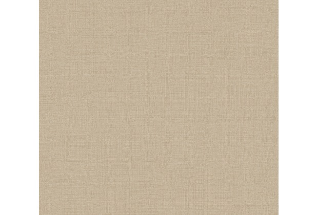 AS Création Vliestapete Character Tapete Uni beige 367767 10,05 m x 0,53 m