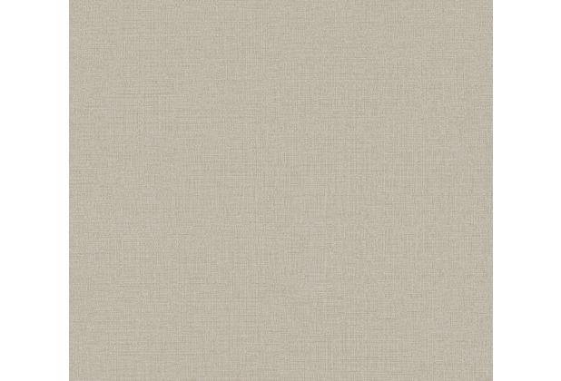AS Création Vliestapete Character Tapete Uni beige grau 367771 10,05 m x 0,53 m