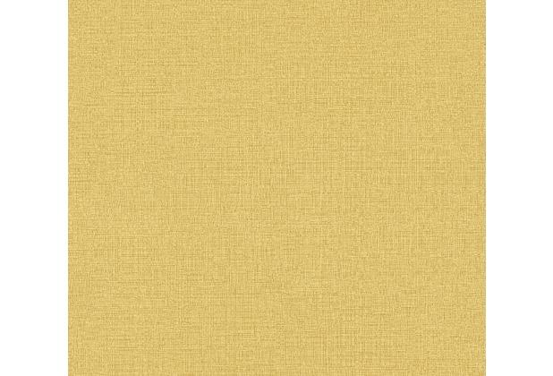 AS Création Vliestapete Character Tapete Uni gelb 367777 10,05 m x 0,53 m