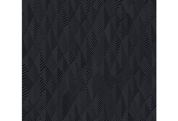 AS Création Vliestapete Club Tropicana Tapete schwarz 359983 10,05 m x 0,53 m