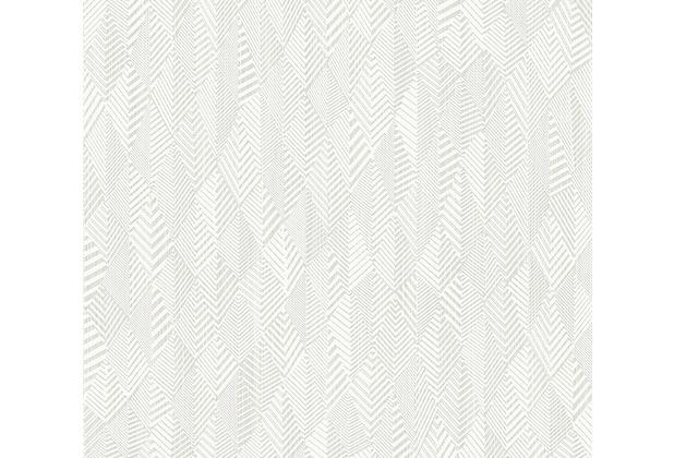 AS Création Vliestapete Club Tropicana Tapete weiß 359981 10,05 m x 0,53 m