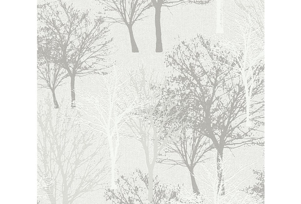 AS Création Vliestapete Elegance 5th Avenue Tapete beige weiß 361472 10,05 m x 0,53 m