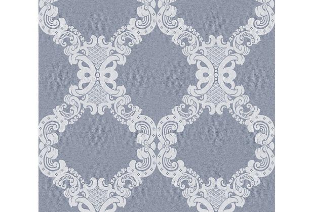 AS Création Vliestapete Elegance 5th Avenue Tapete blau grau 360906 10,05 m x 0,53 m