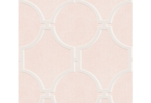 AS Création Vliestapete Elegance 5th Avenue Tapete rosa grau 361492 10,05 m x 0,53 m