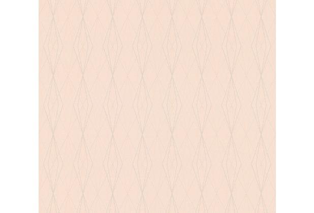 AS Création Vliestapete Emotion Graphic Tapete geometrisch grafisch beige rosa 368796 10,05 m x 0,53 m