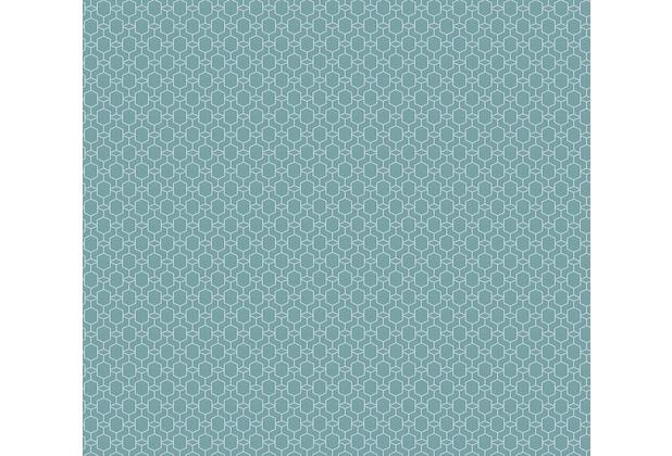 AS Création Vliestapete Emotion Graphic Tapete geometrisch grafisch blau 368832 10,05 m x 0,53 m