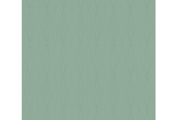 AS Création Vliestapete Emotion Graphic Tapete geometrisch grafisch grün 368793 10,05 m x 0,53 m