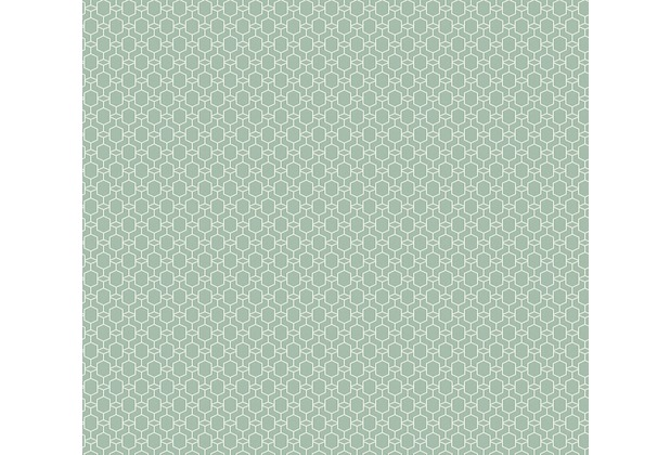 AS Création Vliestapete Emotion Graphic Tapete geometrisch grafisch grün 368834 10,05 m x 0,53 m