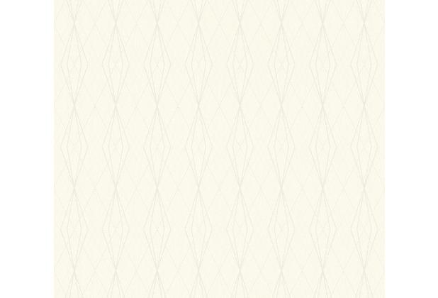 AS Création Vliestapete Emotion Graphic Tapete geometrisch grafisch weiß 368801 10,05 m x 0,53 m