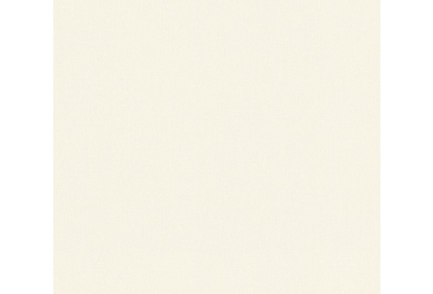 AS Création Vliestapete Emotion Graphic Tapete Uni creme 368826 10,05 m x 0,53 m