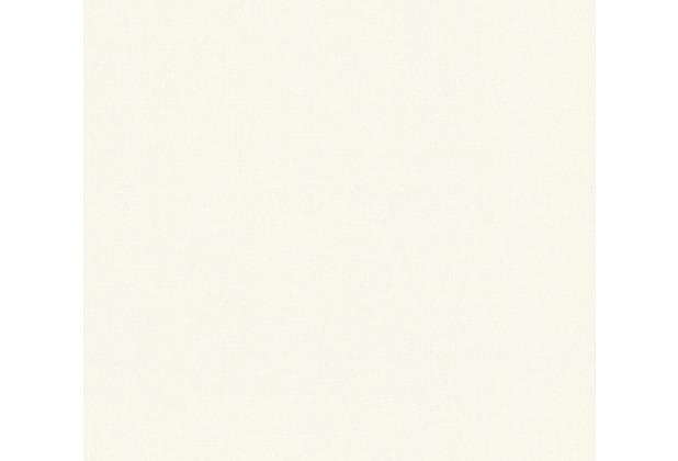 AS Création Vliestapete Emotion Graphic Tapete Uni grau weiß 368828 10,05 m x 0,53 m