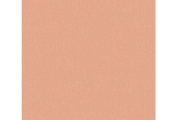 AS Création Vliestapete Emotion Graphic Tapete Uni orange 368824 10,05 m x 0,53 m