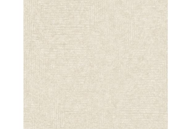 AS Création Vliestapete Ethnic Origin Tapete geometrisch grafisch weiß 371712 10,05 m x 0,53 m