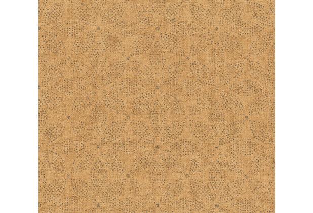 AS Création Vliestapete Ethnic Origin Tapete im Ethno Look orange schwarz 371761 10,05 m x 0,53 m
