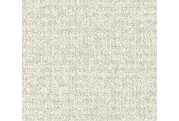 AS Création Vliestapete Ethnic Origin Tapete in Vintage Optik grau beige creme 371733 10,05 m x 0,53 m