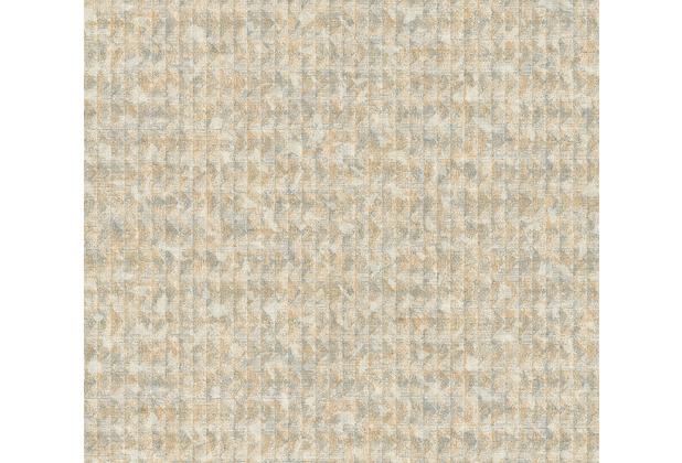 AS Création Vliestapete Ethnic Origin Tapete in Vintage Optik metallic grau beige 371734 10,05 m x 0,53 m