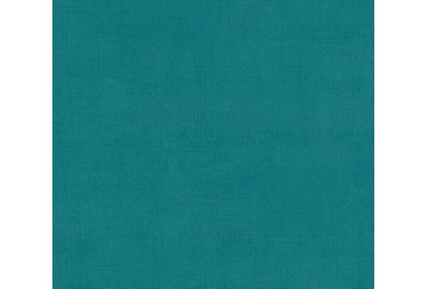 AS Création Vliestapete Ethnic Origin Tapete Uni blau grün 371755 10,05 m x 0,53 m