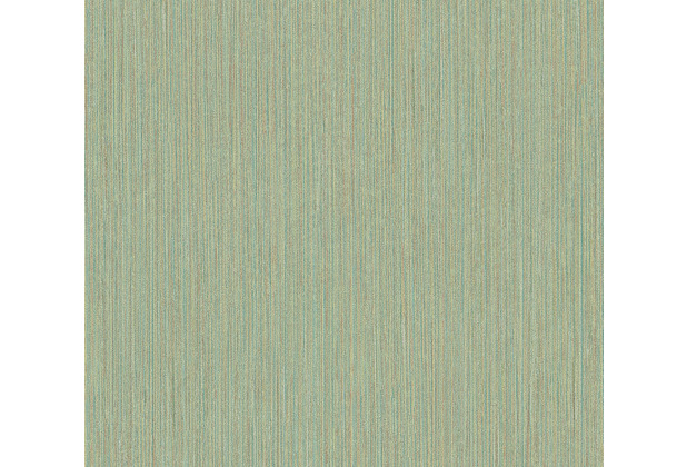 AS Création Vliestapete Ethnic Origin Tapete Uni braun gelb grün 371794 10,05 m x 0,53 m
