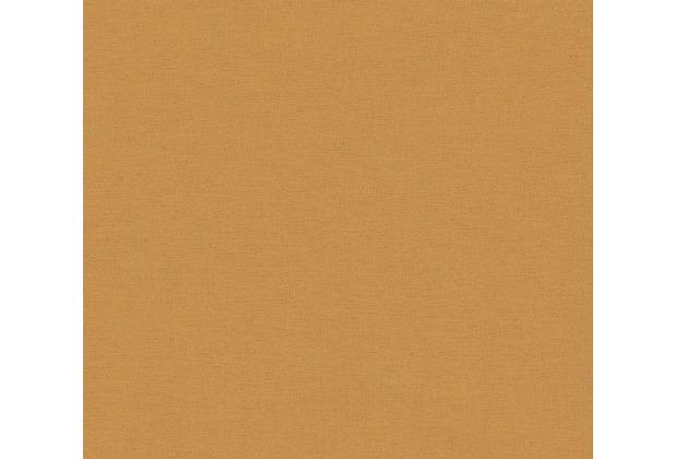 AS Création Vliestapete Ethnic Origin Tapete Uni gelb 371784 10,05 m x 0,53 m