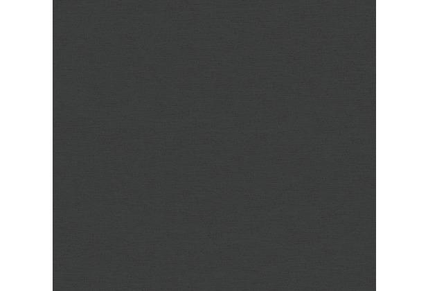 AS Création Vliestapete Ethnic Origin Tapete Uni schwarz 371781 10,05 m x 0,53 m